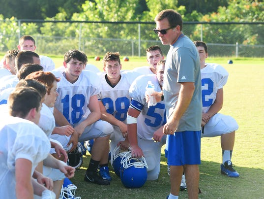 Fort Defiance football - team practice