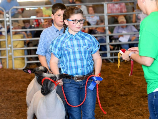 73rd annual 4-H/FFA Market Animal Show and Sale