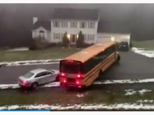 sliding bus