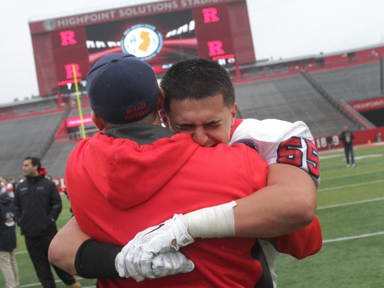 Manalapan was one of six Shore high school football teams to win sectional titles earlier this month.