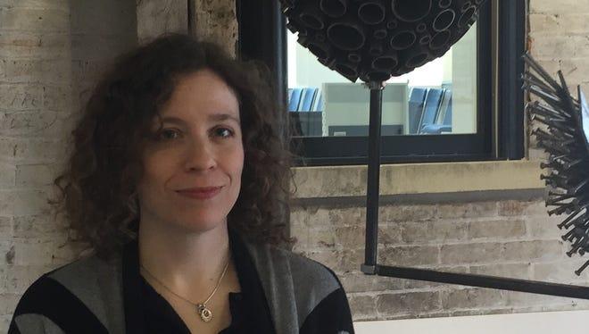 Kenton County Public Library digital librarian Ann Schoenenberger
