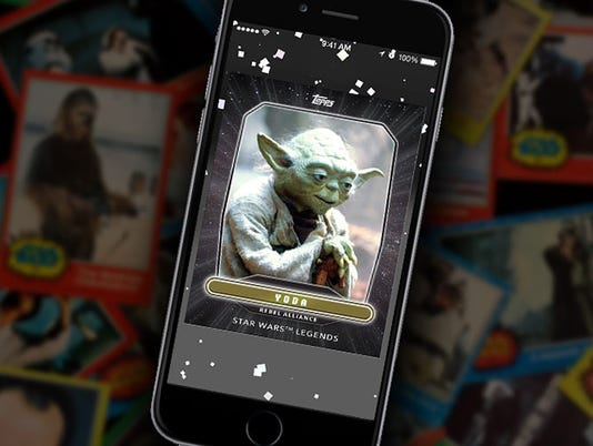 Yoda Legends card