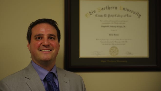 Marion County Assistant Prosecutor Ray Grogan is returning to his alma mater to help teach students.
