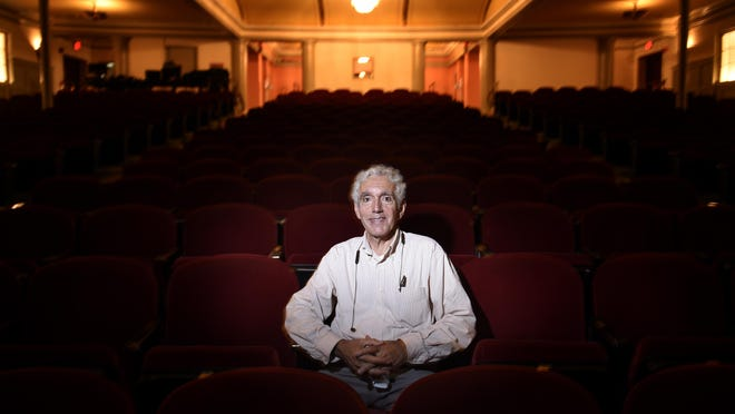 Charles Scavullo, Executive Director of the Imperial Theatre photographed at the Imperial Theatre in Augusta, Ga., Wednesday afternoon June 24, 2020.