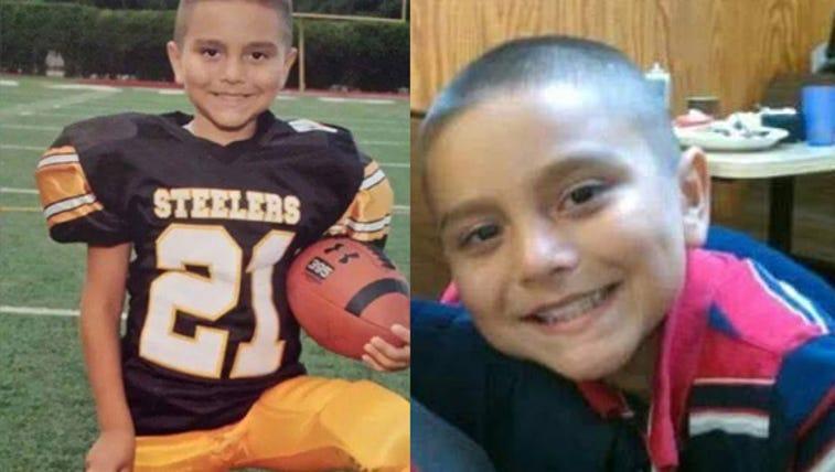Family photos of Anthony Sosa, 11.