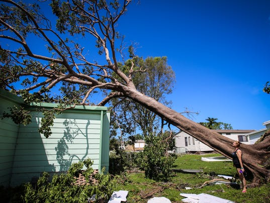 Hurricane Irma Mobile Home Parks Bear Brunt Of Structural Damage