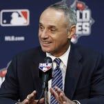 MLB Commissioner Rob Manfred.