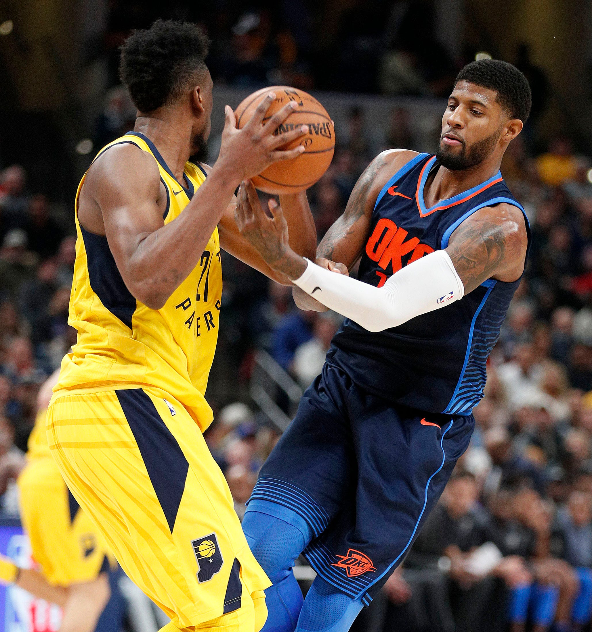 what shoes does paul george wear