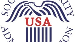 Social Security Administration's logo that is used as its Twitter avatar.