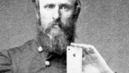 Twitter photo from fake president Rutherford B. Hayes Twitter account.