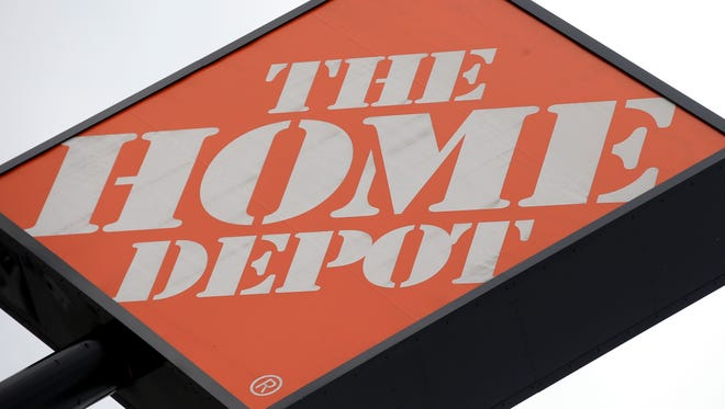 A sign for The Home Depot.