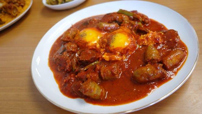 Ajja Merguez at Habbouz Tunisian Cuisine, 7816 N. 27th Ave., in Phoenix.