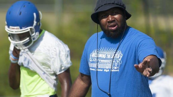 C.J. Harris was fired from Sidney Lanier after leading