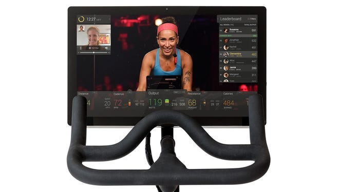 Peloton Cycle live-streams classes to a spin bike monitor or an iPad in your home, where you can follow an instructor, see your statistics and keep track of the competition. And nobody has to know your socks don't match.