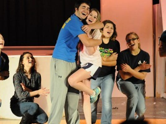 Northern Lebanon High School students rehearse a scene from 'Bye Bye Birdie.' FILE - LEBANON DAILY NEWS