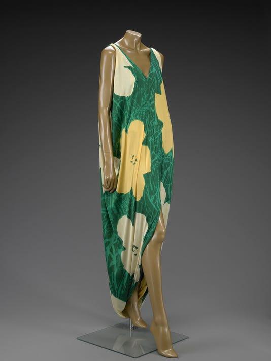 Visual: Halston dress