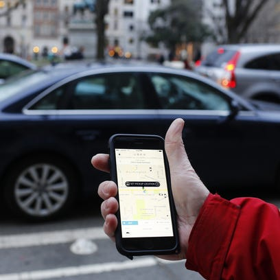 An Uber driver is accused of picking up a Denver woman,