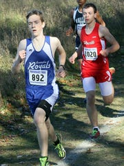 Assumption senior Connor Dolan and his teammates are competing in the Division 3 competition at the WIAA state meet Saturday.