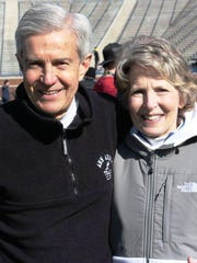 Doug Goodhue and his wife Cindy team up for Running