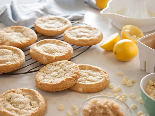 Lemon cookies from Christie Cookie.