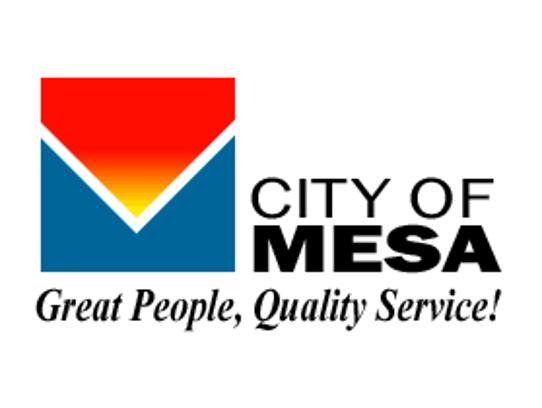 City of Mesa's former flag design.