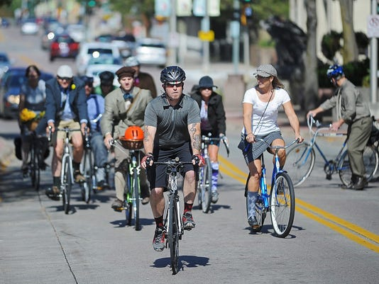 Falls Area Bicyclists' Tweed Ride