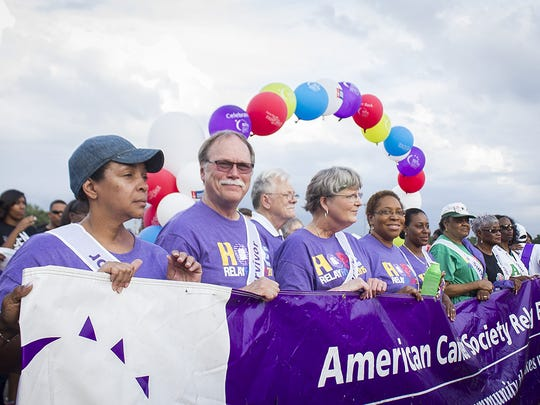 The Purplepalooza kickoff for American Cancer Society's Relay For Life of North Leon will be from 530-7:30 p.m. Wednesday at Waterworks.