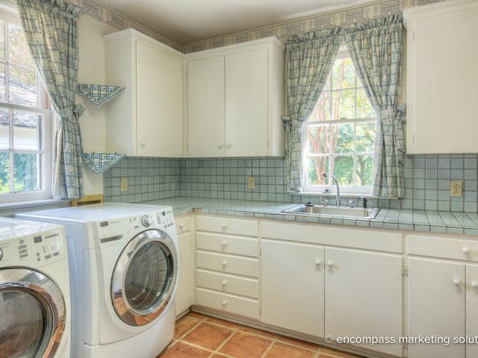 The laundry room of this $1.7 million home.
