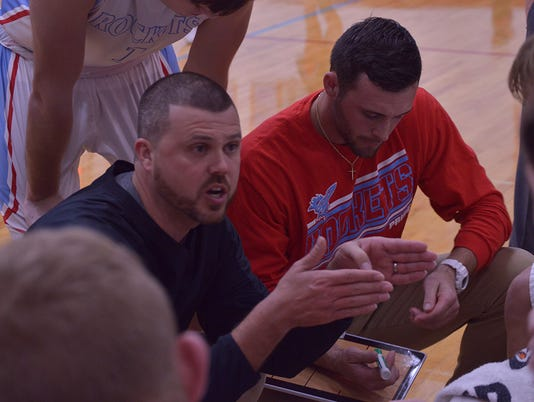 Ridgedale coach Nathon Loney