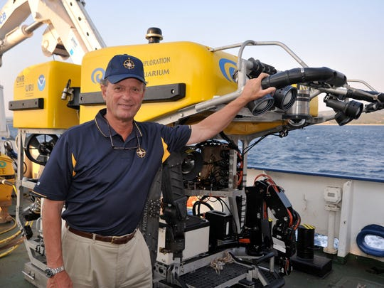 Dr. Robert Ballard directs the Center for Ocean Exploration and will lead NOAA's new Ocean Exploration Cooperative Institute.