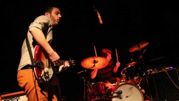 Jpegasus is seen on stage during a recent show at Vinyl Music Hall. The band performs Wednesday at The Handlebar.