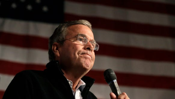 An H, a Y, and five A's. Tough draw, Jeb.