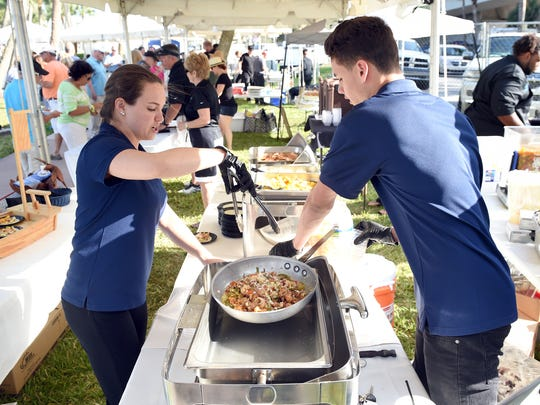 The Big Taste of Martin County allows those who attend to vote for the best dishes in seven award categories including best soup, salad, appetizer, entree, dessert, presentation, and drink.