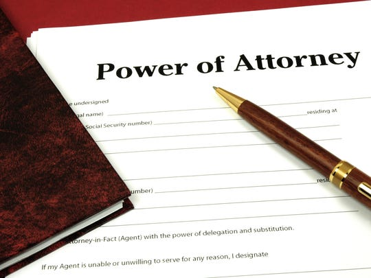 Do you have an updated and current power of attorney