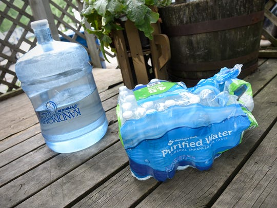 Water was donated and delivered to residents of Sartell