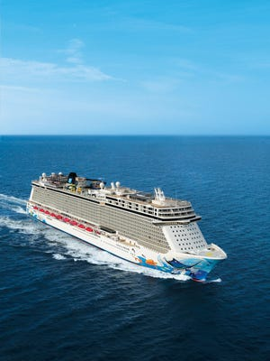 The 164,600-ton Norwegian Escape is Norwegian Cruise Line's largest ship ever.