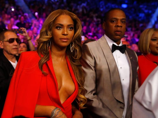 Beyonce Knowles, shown with husband Jay Z, has a figure