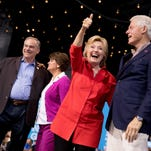 Clinton courts Trump's Midwestern working class whites