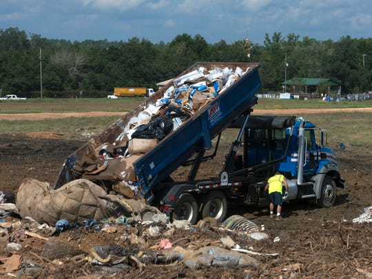 Since the closing of Rolling Hills Landfill in Pensacola the Santa Rosa Landfill has seen an influx of Class Three waste being brought to its facility.