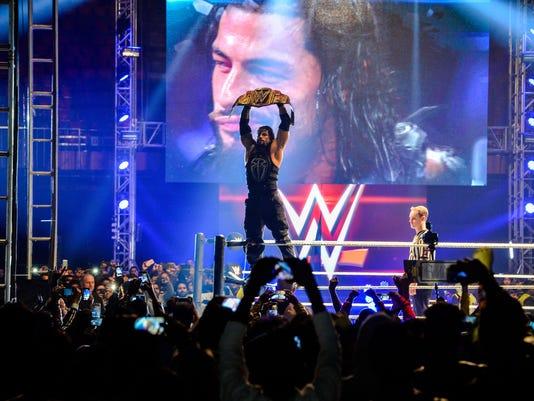 INDIA-WWE-ENTERTAINMENT
