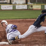 Lakeview senior Nick Jones slides into third during a recent game.