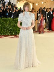 Anna Wintour, the editor-in-chief of Vogue magazine,