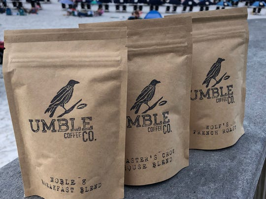 Umble Coffee Company beans are roasted, packaged and