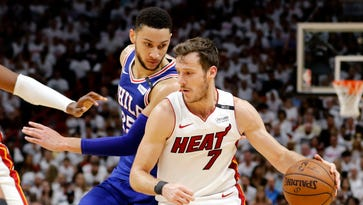 Tensions flare after Goran Dragic smacks Ben Simmons in Game 5 of 76ers-Heat