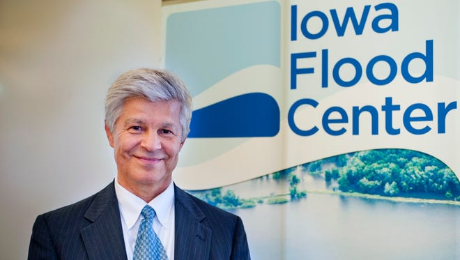 Witold Krajewski is the director of the Iowa Flood Center at the University of Iowa.