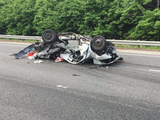 State Police say a driver was killed after their car