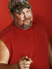 Larry the Cable Guy will perform at the Montana State Fair in Great Falls.