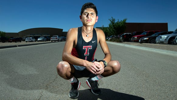 Daniel Amaya helped Tornillo win the District 3-3A boys cross country team title on Saturday in Alpine. He ran second as an individual.