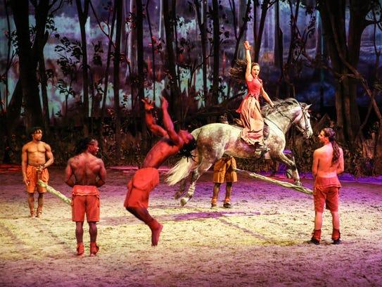 "Cavalia presents ""Odysseo"" Aug.30-Sept.17 Under the"