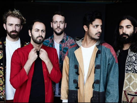 Young the Giant plays at the Cayuga Sound festival